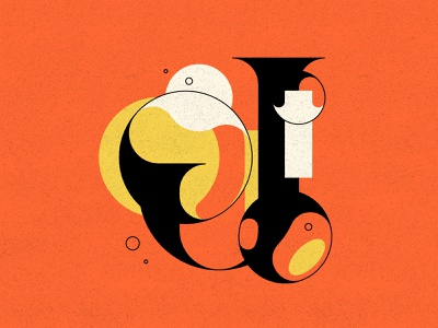 J j bubble type bubbles typography type letters 36daysoftype 36days