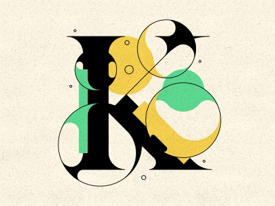 K bubble type bubbles typography type letters 36daysoftype 36days