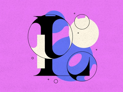 L bubble type bubbles typography type letters 36daysoftype 36days