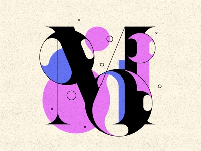 M m bubble type bubbles typography type letters 36daysoftype 36days
