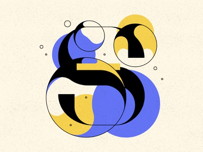 S bubble type bubbles typography type letters 36daysoftype 36days