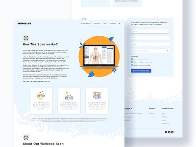 Web Page design adobe landing page design vector illustration webdesign ux ui