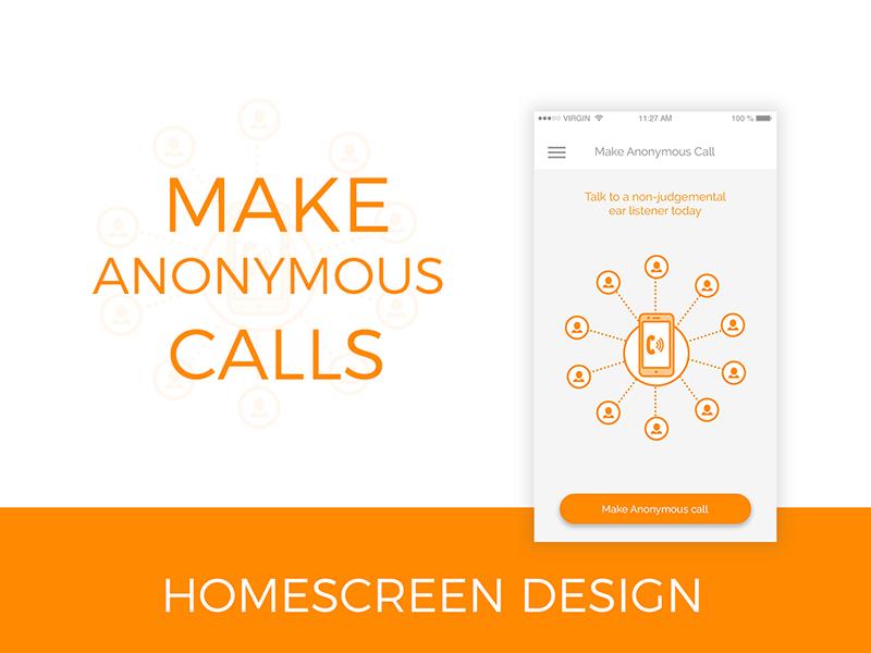 App homescreen design