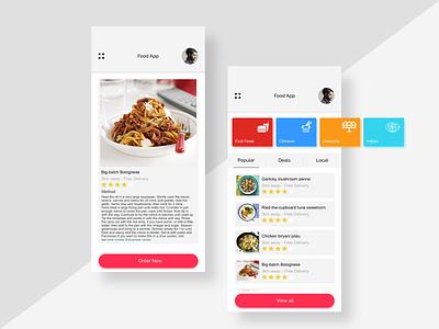 Phone App UI Concept invision design app user inteface design user experince design ux ui