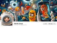Mail.ru Facebook Cover Full