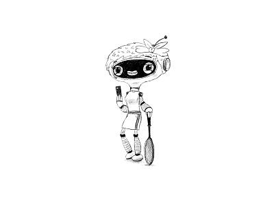Character design for Shell or BP? oil bp shell robot kids children cartoon cg character illustration