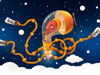 Translation Octopus Machine