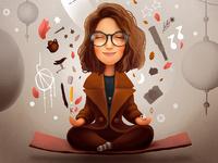 Katya Meditates