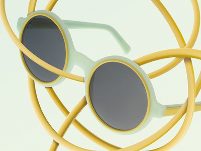 Herr Menig Optik Sunglasses nürnberg optics summer graphic specs glasses sunglasses collage illustration optician