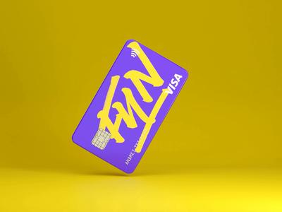 CardFun texture blender3d mockup 3d blender ui branding illustration design