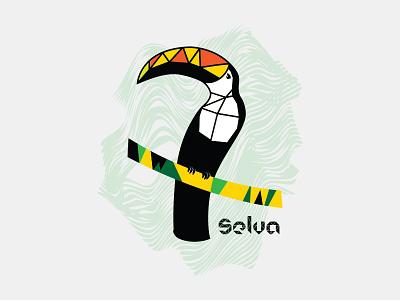 Selva Tucán design vector