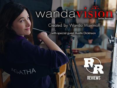 Rum & Regret Treatments - WandaVision Part Two design podcasting photoshop pop culture graphic design podcast art podcast