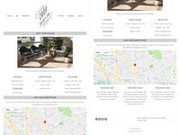 Chop Salon & Spa - Website Re-Design Details