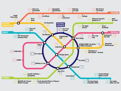Sydney Festival Route Map