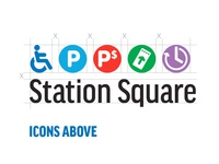 Pittsburgh Station Informational Icons