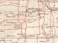 Digital Restoration of 1926 U.S. Highways Map