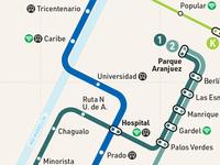 Metro de Medellin - Detail