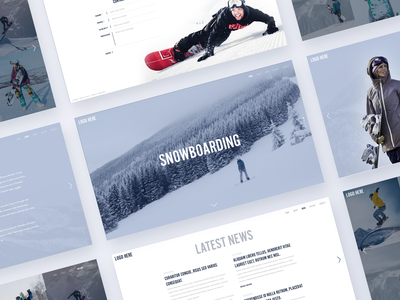 Snowboarding onepage website template hero gallery websites full page fullpage webdesign web design design web one page page one onepage template website skiing ski snowboarding snowboard snow