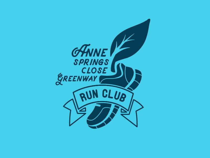 ASCG Running Club Logo running club greenway run club running