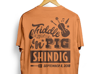 Fiddle 'n Pig Shindig T-Shirt