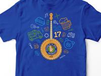 Fiddle 'n Pig Shindig T-Shirt 2017