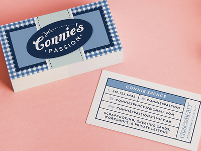 Connie's Passion Business Cards