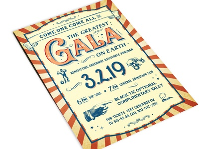 The Greatest Gala Invitation