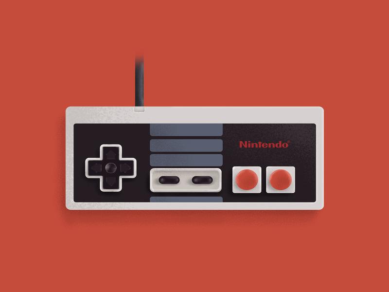 Nintendo NES illustration retro snes nintendo nes icon gamepad gamecube gameboy