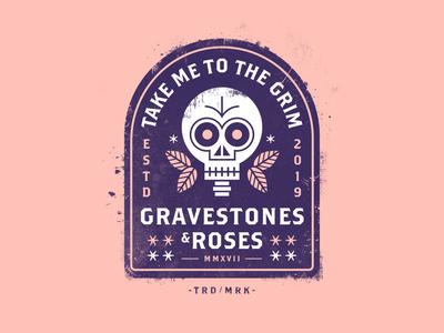 Gravestones & Roses