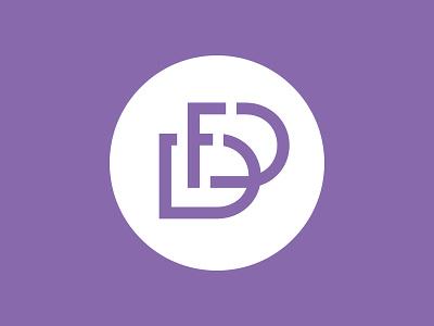 Dementia Friendly Duluth ridley badge circle alzheimers purple f d monogram logo dementia