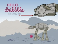 Hello Dribbble! Let's Play Ball.