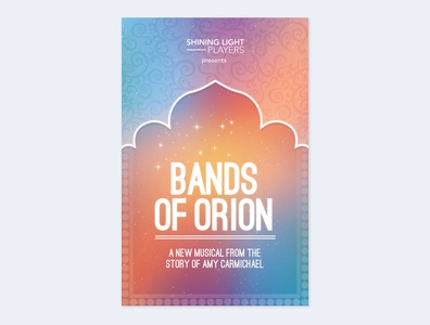 The Bands of Orion Musical - Theatre Poster
