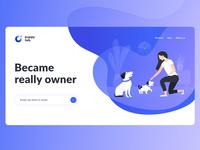 puppy tab - main web page