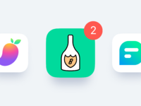 App icons large