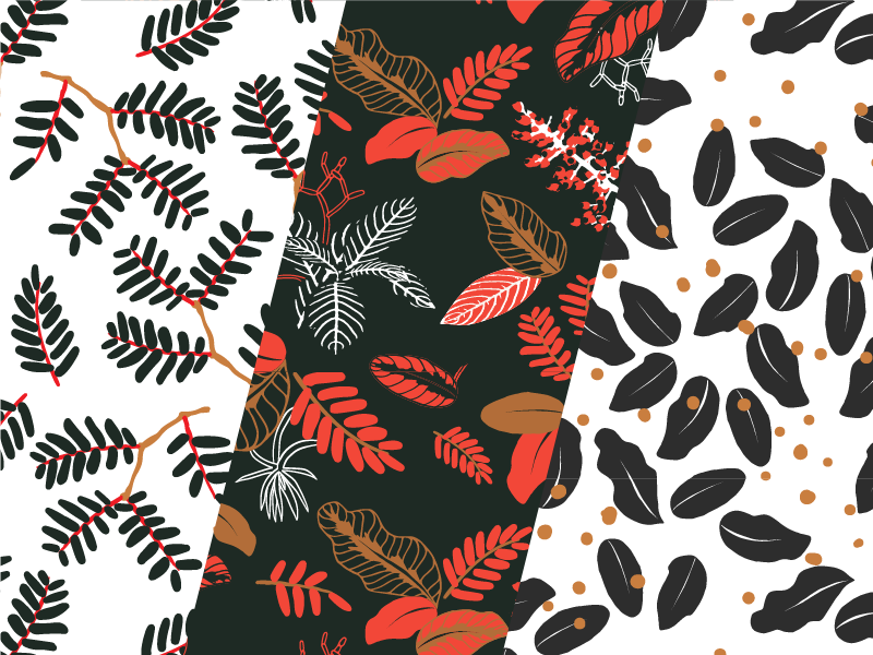Pattern Giveaway! nature floral leaves repeating pattern repeating usable free vector pattern