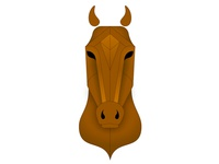 Geometric Horse WIP
