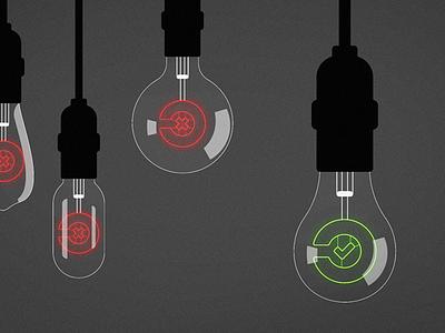 Edison bulbs neon light bulb edison bulb drawing vector illustration