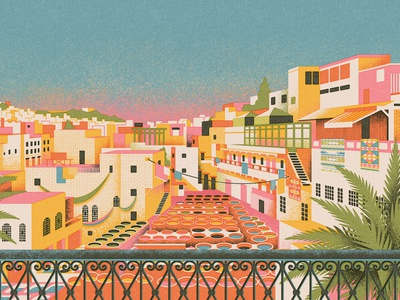 Fes, Morocco | Culture Trip trip cityscape rugs textiles travel illustration travel tannery morocco fez fes