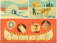 Canada's History Magazine Illustrations