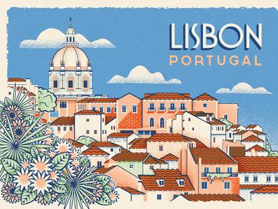 Herb Lester Postcard - How To Find Old Lisbon