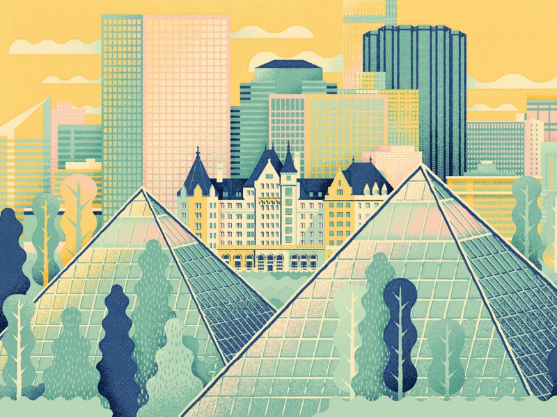 Edmonton - CultureTrip downtown canada yeg skyline travel hotel muttart conservatory alberta edmonton