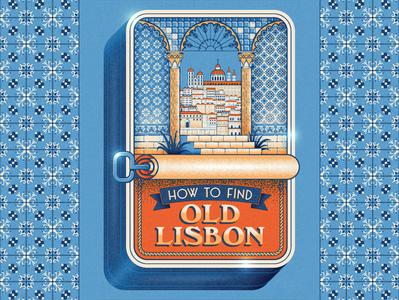 How To Find Old Lisbon packaging tin tiles lisboa portugal sardine retro travel travel guide lisbon