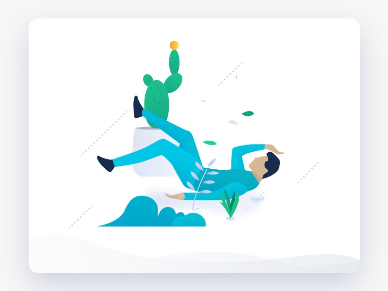Character illustration illustration,green character,