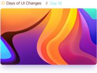 D18 The  Color gradient panel