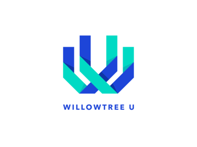 WillowTree U Logo design ai learning education branding logodesign logo