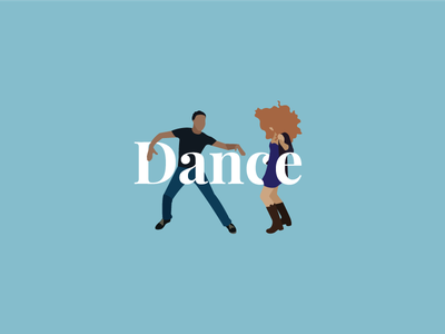 Dance playfair dancing dance dancers illustration