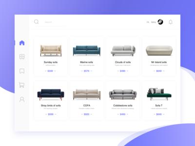 Conceptual furniture design