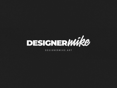 Designermike.art Update toronto typography concept branding illustration logo lettering graphic designer design art designermike