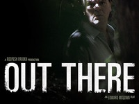 Out There short-film poster short film movie poster nature green white