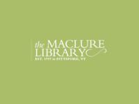 Maclure Library Logo bergamo pro nymphette pale green white